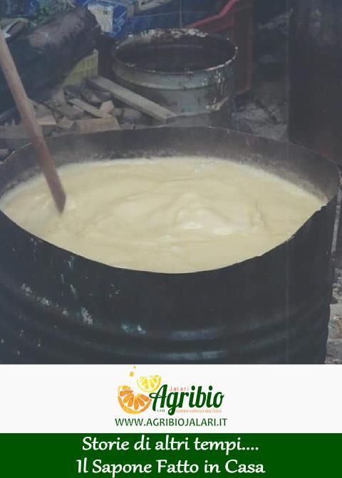 Il Sapone Fatto in casa - La ricetta dell'azienda agricola biologica jalari
