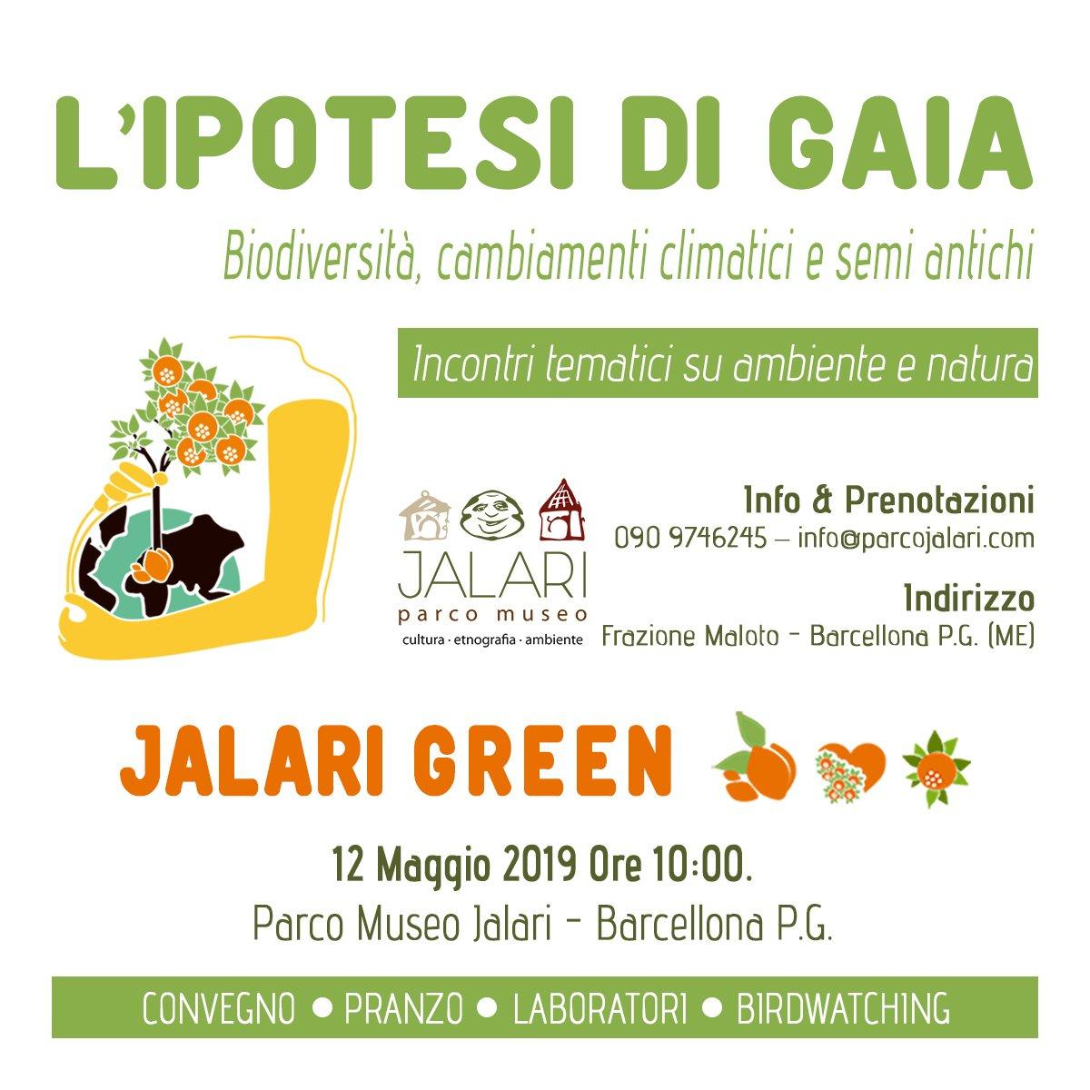 L'ipotesi di Gaia - Convegno al Parco Museo Jalari Azienda Agricola Biologica Jalari