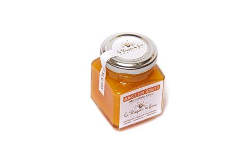 Marmellata d'arancia con scorzette Azienda Agricola Biologica Jalari