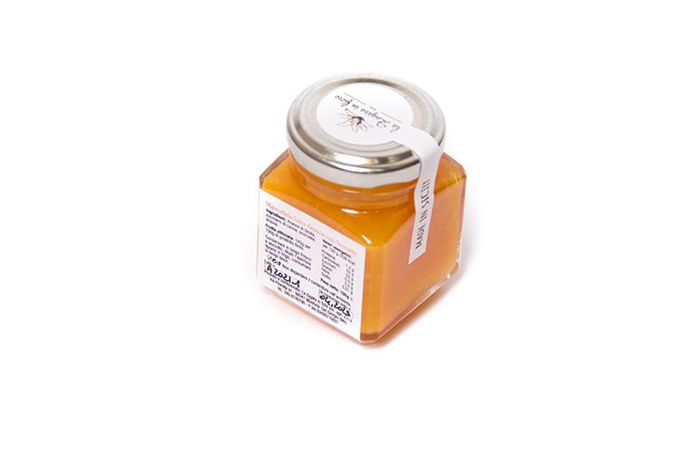 Marmellata d'arancia con scorzette